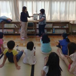 長岡第6小学校 夏休み図書室開放イベント  テーマ 「想像力」をいっぱい使おう